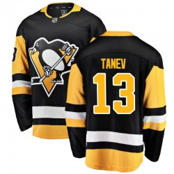 Brandon Tanev Pittsburgh Penguins Men's Fanatics Branded Black Breakaway Home Jersey