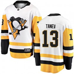 Brandon Tanev Pittsburgh Penguins Men's Fanatics Branded White Breakaway Away Jersey