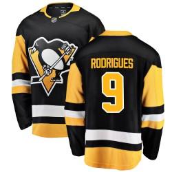 Evan Rodrigues Pittsburgh Penguins Men's Fanatics Branded Black ized Breakaway Home Jersey