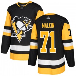 Evgeni Malkin Pittsburgh Penguins Men's Adidas Authentic Black Jersey