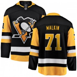 Evgeni Malkin Pittsburgh Penguins Youth Fanatics Branded Black Home Breakaway Jersey