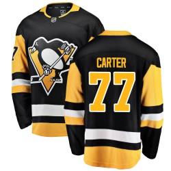 Jeff Carter Pittsburgh Penguins Men's Fanatics Branded Black Breakaway Home Jersey