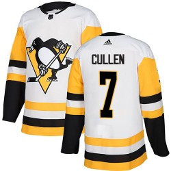Matt Cullen Pittsburgh Penguins Youth Adidas Authentic White Away Jersey