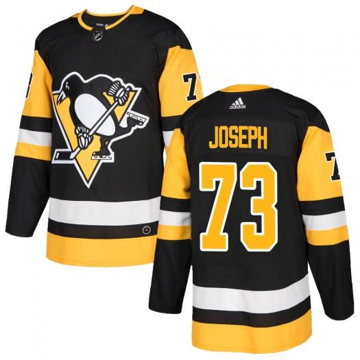 Pierre-Olivier Joseph Pittsburgh Penguins Men's Adidas Authentic Black ized Home Jersey