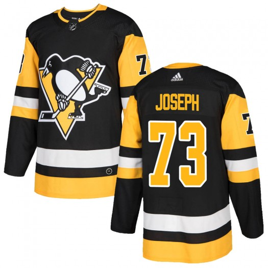 Pierre-Olivier Joseph Pittsburgh Penguins Youth Adidas Authentic Black ized Home Jersey