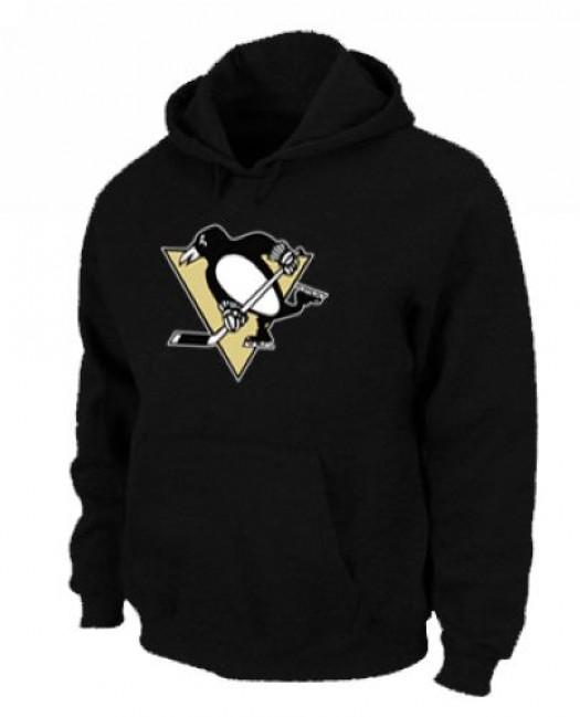 Pittsburgh Penguins Men's Black Pullover Hoodie