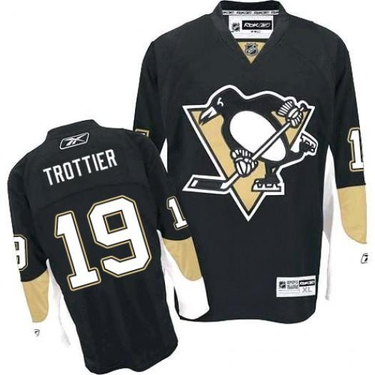 Bryan Trottier Pittsburgh Penguins Men's Reebok Authentic Black Home Jersey
