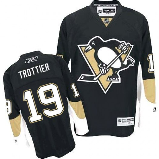 Bryan Trottier Pittsburgh Penguins Men's Reebok Premier Black Home Jersey