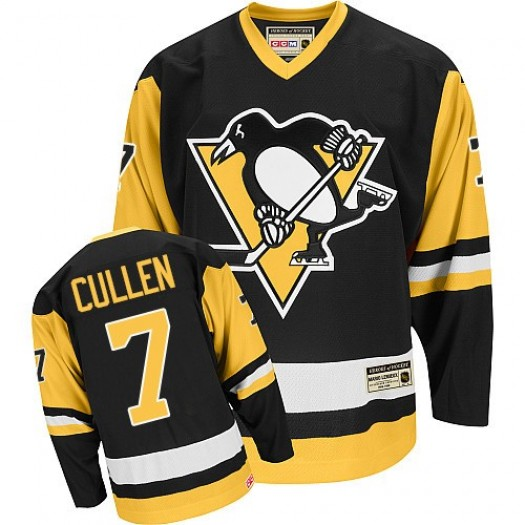 Matt Cullen Pittsburgh Penguins Men's CCM Premier Black Throwback Jersey