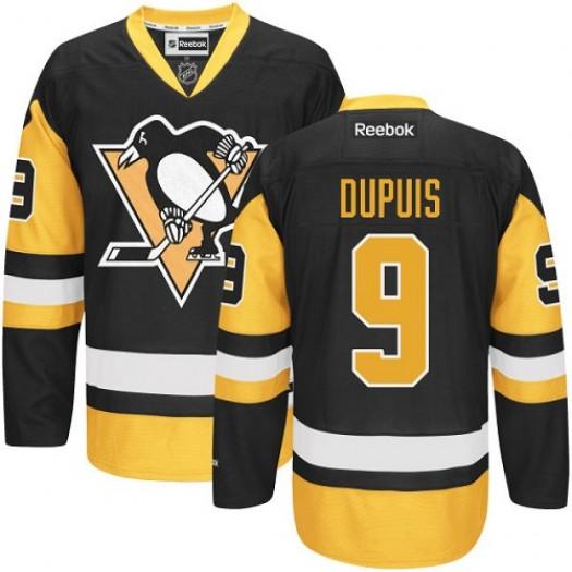 Pascal Dupuis Pittsburgh Penguins Men's Reebok Authentic Black/Gold Third Jersey