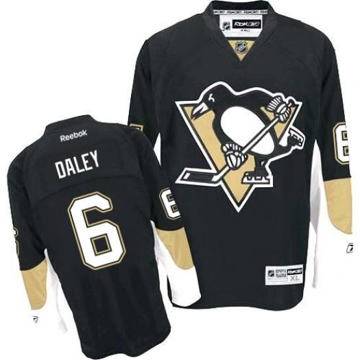 Trevor Daley Pittsburgh Penguins Men's Reebok Premier Black Home Jersey